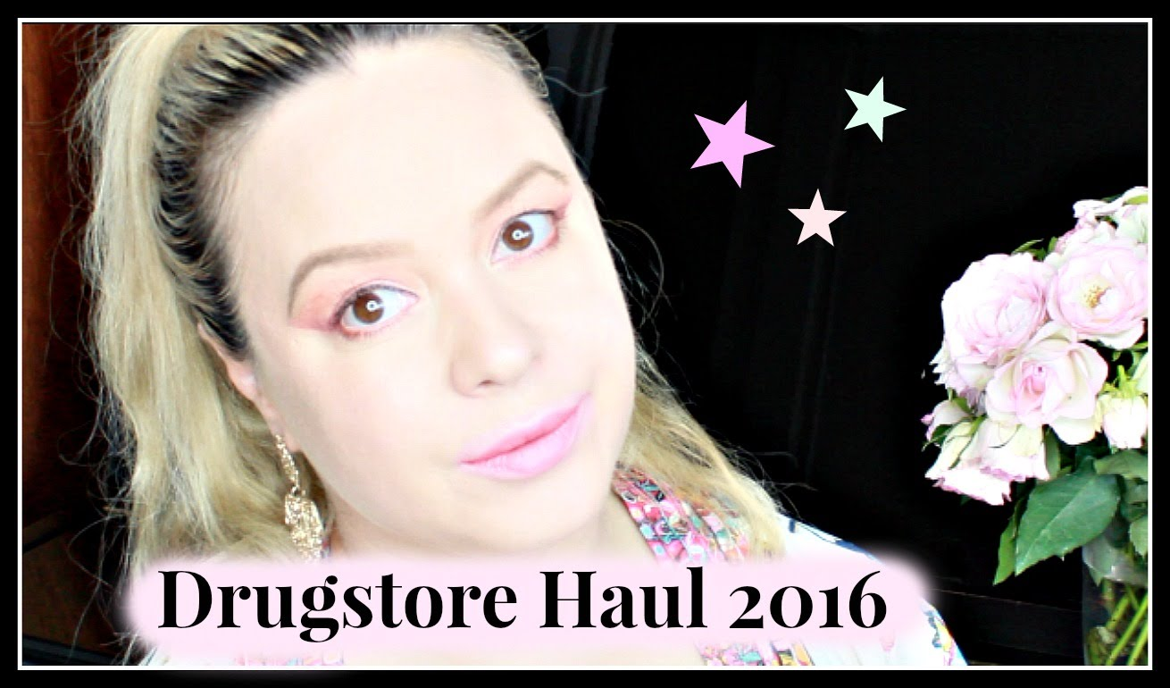 drugstore haul 2016