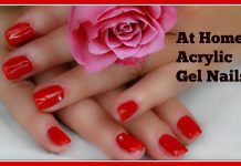 At Home Acrylic Gel Nails Step By Step Tutorial