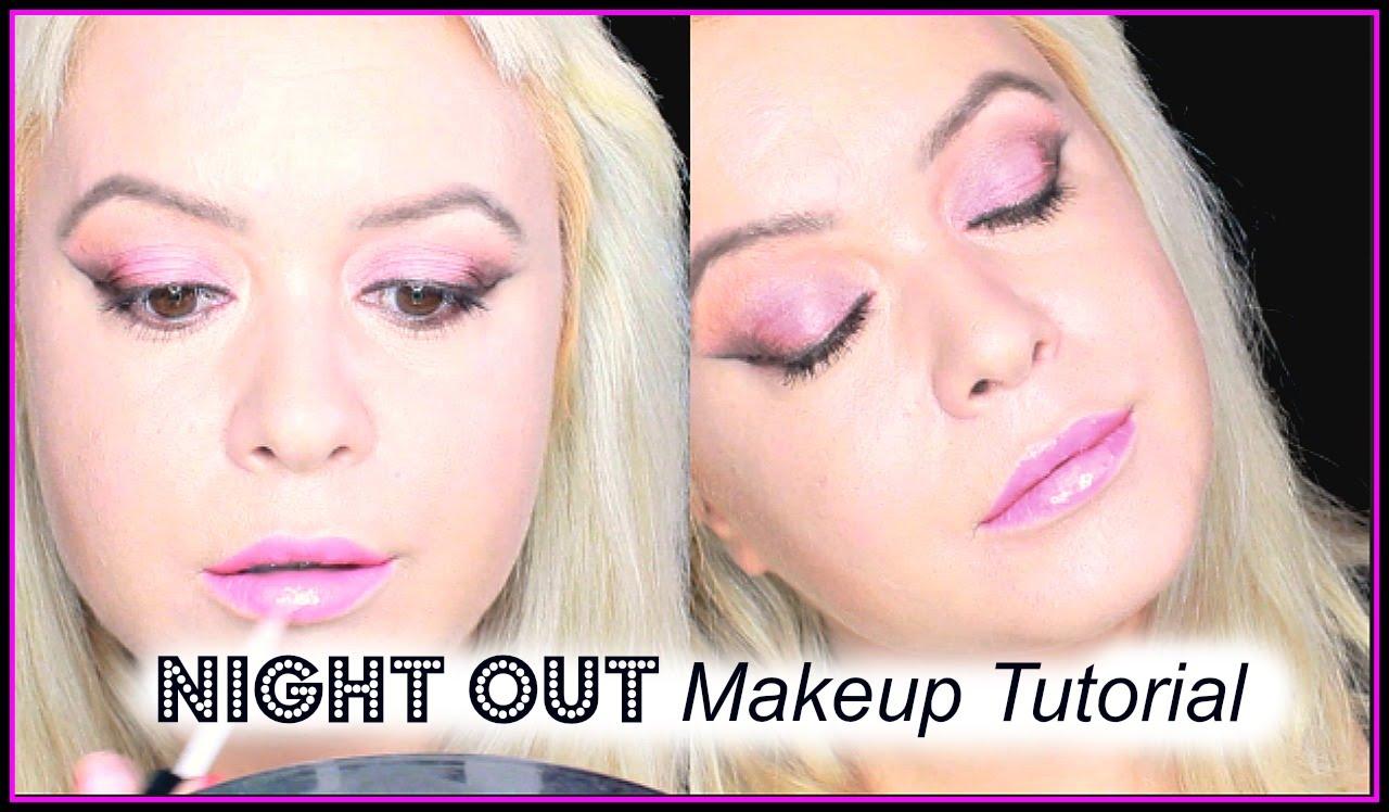 night out makeup tutorial