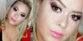 Festive Holiday Full Glam Makeup Tutorial