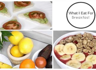 What I Eat For Breakfast (Easy & Healthy Food Ideas )