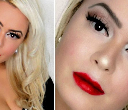 Classic Glam Bold Wing & Red Lips Makeup & Hair Tutorial