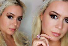 Brown Smokey Eye & Glossy Lips | Natural Fall Makeup Look