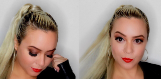 Girls Night Out GRWM : Clubbing | Soft Smokey Eye & Red Lip