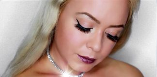 Classic Fall Glam ┃Winged Liner & Berry Lips Makeup Look